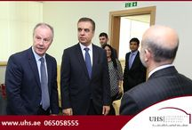 UHS & Air Arabia sign a Service Level Agreement / University Hospital Sharjah has signed a Service Level Agreement with Air Arabia outlining a broad framework for healthcare services and education for the airline's staff.  As part of the agreement, the hospital will determine the primary, secondary and tertiary care needs of the staff and dependents and make referrals to the relevant specialists, as needed. Read more at: http://uhs.ae/news-detail/91/