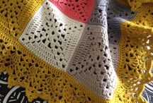 Crochet = colorful throws