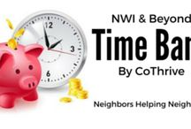 CoThrive Time Bank / I'm starting a time bank in Northwest Indiana. If you're in my area, I hope you'll consider joining. If you're not in my area, I hope you will find some of the tools and resources here useful for starting your own local time bank.
