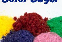 Sugar colouring