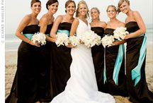 Teal & Black Wedding / by The American Wedding