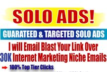 Targeted Solo Ads / You will get your targeted solo ads services here. 100% top tier clicks ad 40-50% optins are guaranteed here.