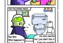 Blogging, Cartoons & WebComics / Cartoons and webcomics created by me.