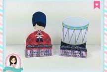 Festa Soldadinho de Chumbo / Festas Criativas e Personalizadas você encontra aqui. Procurando fofuras para a sua festa? Na nossa loja tem! http://loja.danifestas.com.br/