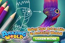 Amazing World Design a Fish Contest / The fans of Amazing World are helping us design a new legendary fish. Here are some of their ideas!  For more info on the contest visit http://amazingworld.ganzworld.com/announcements/design-your-own-fish-contest/