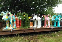 easiGromit! Gromit Unleashed  / Have you spotted the Gromit covered in easigrass in Bristol?