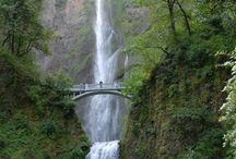 Oregon Travel Map : Portland and Hood River / Road trip planning for Oregon