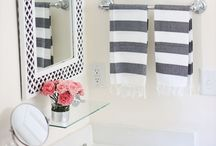 HOME: Bathroom ideas / Inspiration and decor ideas for the bathroom.