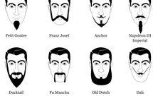 Tipos de barba y peinados