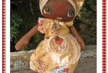 Raggedy dolls