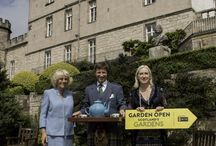 Scotland's Garden and Royal Visit / We celebrated our 85th Scotland's Garden open day this year and had a  Garden Party for 200 guests.
