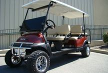 Limo Golf Carts / Six Passenger Limo Golf Carts