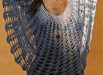 roupas tricô e crochê