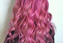 Pink Hair Ideas / Pink hair color styles and ideas from salons, hair stylists and beauty professionals who use Vagaro to manage their business. Styles include pink ombre, balayage, highlights, tips and solid all over color as well as pink hair for dark, brunette and blonde hair. Pink hair color can be: dark, soft, bold, bright, light, pastel, holographic, rose, rose gold, dusty rose, flamingo, melon, blush, neon, millennial, peach, ballet, peach, coral, hot pink, magenta, bubblegum, cotton candy and more.