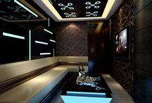 Karoake room