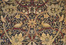William Morris / El romantisismo y el movimiento de cada una de sus creaciones me inspiran en quilting