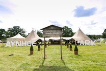 AYNHOE BACKSTAGE / Aynhoe Backstage is a re-incarnation of Aynhoe Park at festivals and events.