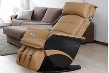 Chaise de massage /  Les fauteuils massants relaxants de la boutique en ligne LiveyourHouse sont les plus en pointe, de toute la collection, en matière de technologie.