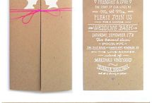 Wedding Invites / by Somari Soni van der Westhuizen