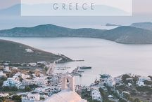 Greece Travel / Greece Travel Inspiration. Itinerary ideas, destinations guides, best islands, most beautiful places to visit, food tips and more!