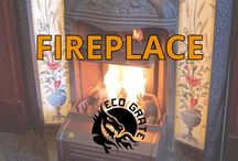 Fireplace / Use EcoGrate in your Fireplace.