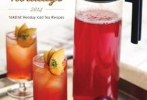 Entertaining with Tea / Great ideas for tea recipes, tea settings, and creating new beverages using tea!