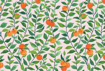 Wallpaper + Fabric Patterns
