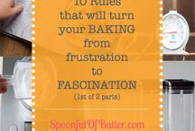 Baking/Cooking Tips and Tutorials