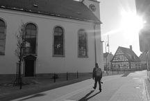 My trips - Maximiliansau, DE / Scenes of my tour in Maximiliansau, Wörth am Rhein, Germany.