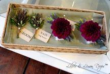 {Wedding Florals}