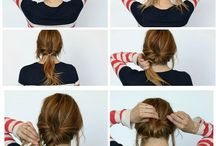 Hairstyles to try. / Wake up to a new hairstyle