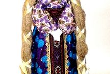 Folk dolls / Folk dolls - handmade dolls and amulets made in folk style. View - http://arthandmade.net/catalog/narodniekykli