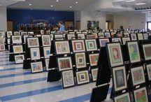 οργάνωση έκθεσης ζωγραφικής