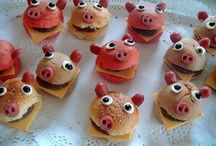 Kids sweet and savory food ideas / by Stacey Flentjar