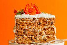 Carrot & Pumpkin Cakes