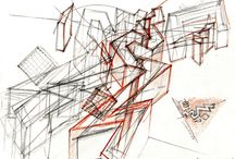 architect's sketches