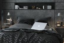 Male bedroom