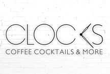 CLOCKS Branding & Menu.
