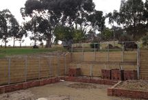 South Morang, Owner/Builder / Building a house in South Morang constructed by owner/builder using spantec subfloor and Dynamic Steel Frame wall and trusses.