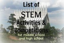 STEM for Older Kids / From Middle School to high school age, STEM projects galore!