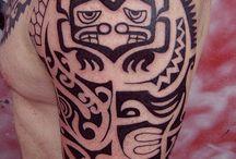 polynesian tattoo men