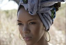 Turbans and Head Wraps / Beautiful prints, styles, and techniques
