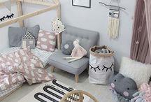 Décoration chambre enfant/bb