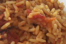 Recipes- Rice