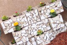 mosaic outside