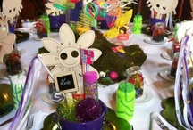 Garden Themed Kids Table Final Design / by Distinctive Occasions