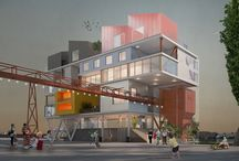 Graphitecture / Graphic renderings of Architecture