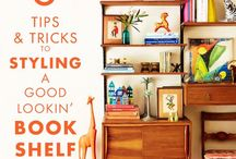 Bookcase decorating / Items & placement ideas