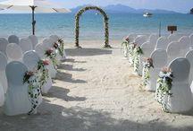 Decoración al aire libre para casamientos