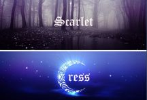 The Lunar Chronicles / Book series by Marissa Meyer